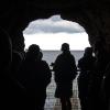Nödutgång mot Öresund