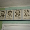 Sovjetiska författare i biblioteket.