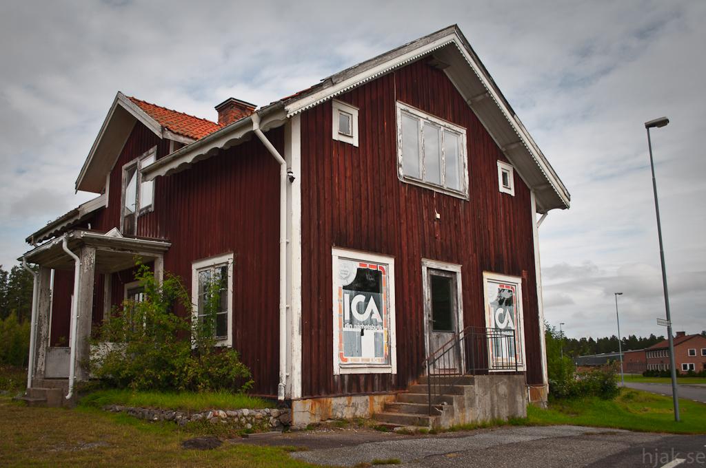 naturlig affär liten nära Stockholm