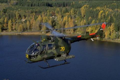 HKP 9A. Bild via Försvarsmakten.