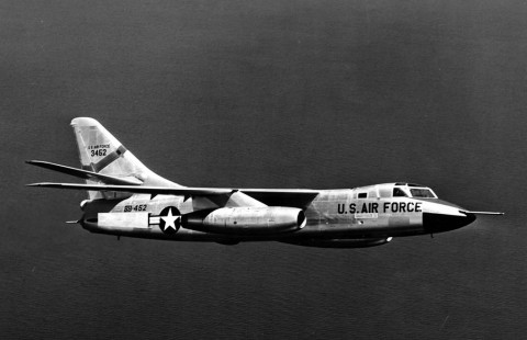 Douglas RB-66B Destroyer. Bild via USAF.