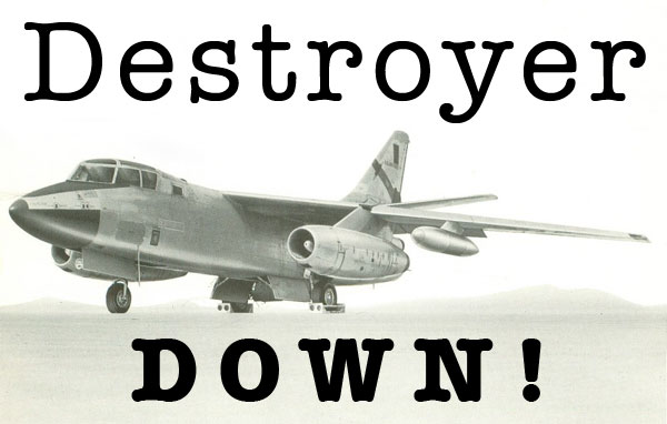 Destroyer down!
