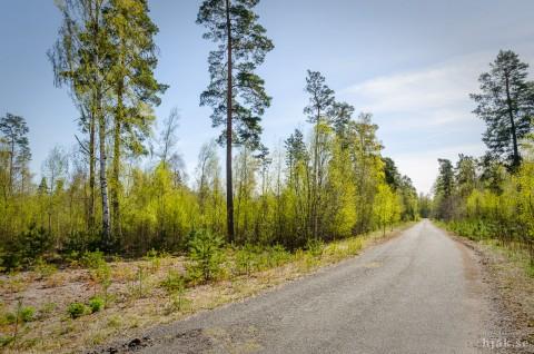 Ursprungliga Uom vid Karlsborgsbasen. Foto Hans J, april 2014.