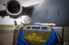 C-17 jobbar deltid för Sverige. Foto Hans J 3.6.2012.