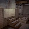 Interiör i nyare utrymmen för värme och ventilation.
