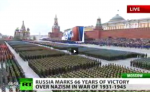 9 Mая - fredsdagen firas i Moskva