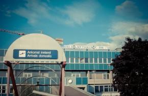 Rester av en flygplats