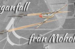 Flyganfall från Moholm